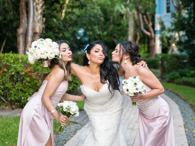 Steven and Sally's Wedding in Key Largo, Florida 15