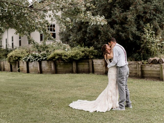 The wedding of Racheal and Brian