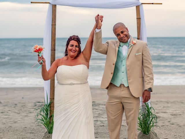 The wedding of Carnell and Denise
