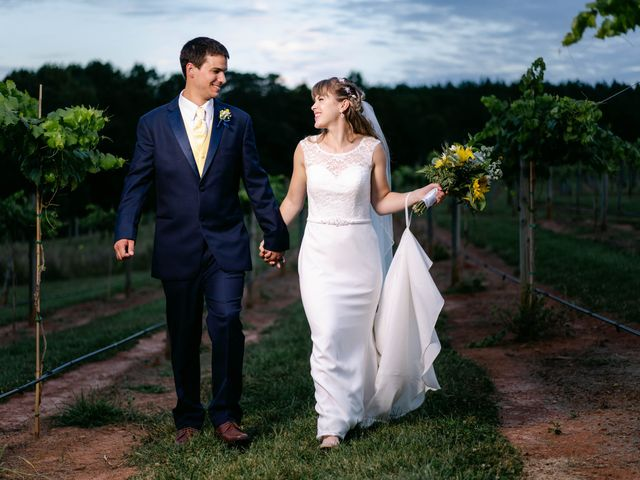 The wedding of Christine and Cole