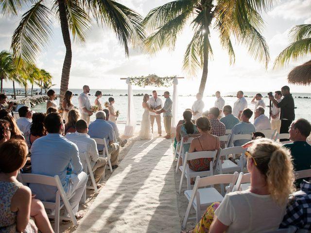 Rachael and Bryan's Wedding in Oranjestad, Aruba 9