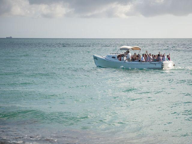 Rachael and Bryan's Wedding in Oranjestad, Aruba 4