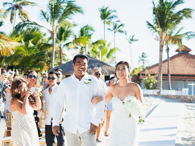 Larry and Rebecca's Wedding in Punta Cana, Dominican Republic 36