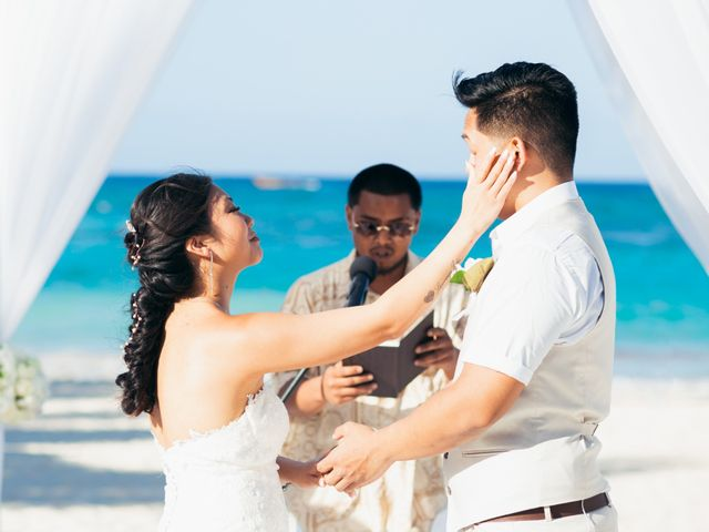 Larry and Rebecca's Wedding in Punta Cana, Dominican Republic 42