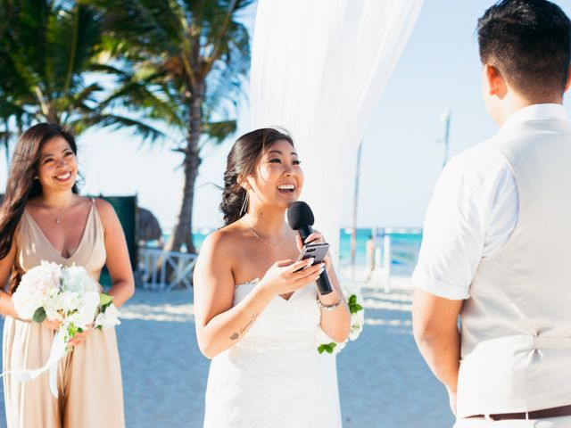 Larry and Rebecca's Wedding in Punta Cana, Dominican Republic 43