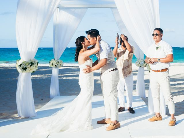 Larry and Rebecca's Wedding in Punta Cana, Dominican Republic 54