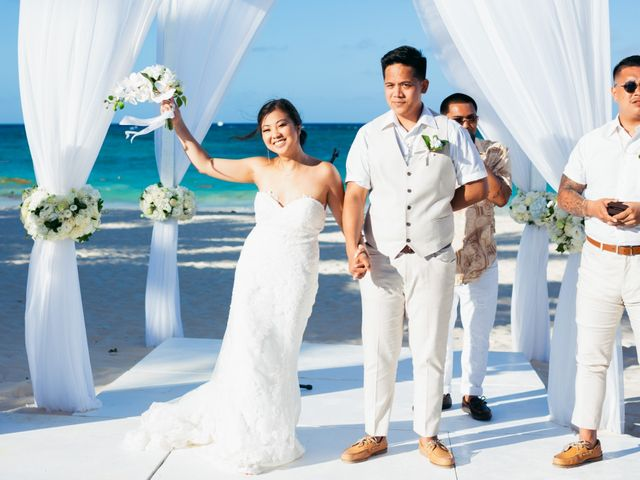 Larry and Rebecca's Wedding in Punta Cana, Dominican Republic 1