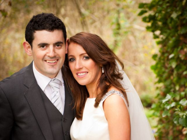 The wedding of Ciaran and Leona