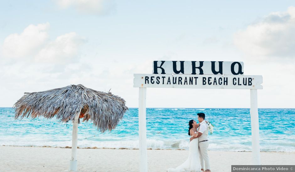 Larry and Rebecca's Wedding in Punta Cana, Dominican Republic