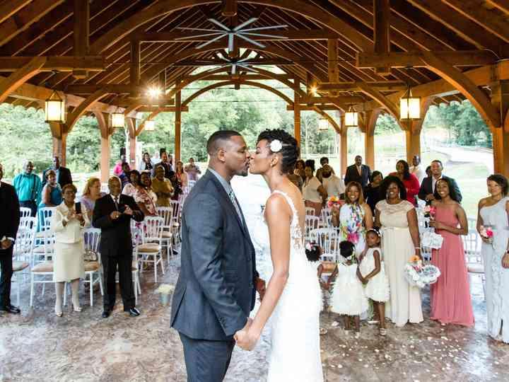 The wedding of Rashanda and Amaliko