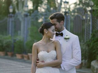 The wedding of Paulina and Peter