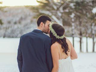 Nicolette and Leighton's Wedding in Caratunk, Maine 3