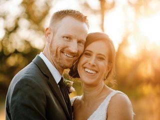 The wedding of Christina and Rusty