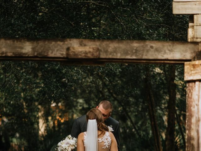 Zach and Alyssa's Wedding in Deland, Florida 8