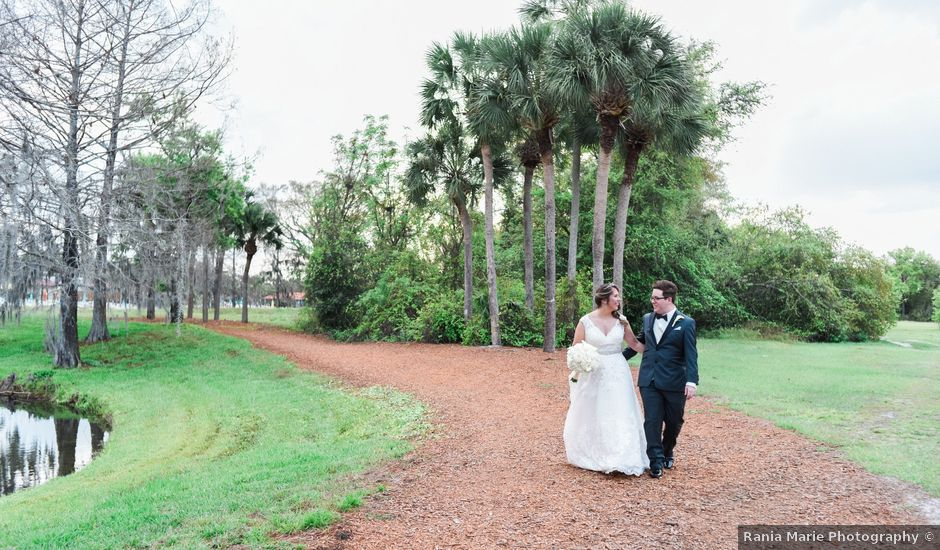 William and Rebecca's Wedding in Orlando, Florida