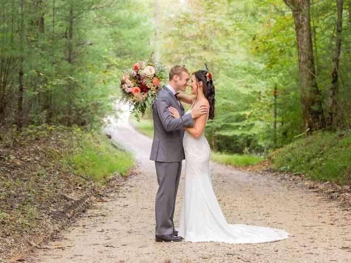 The wedding of Kellie and Steve