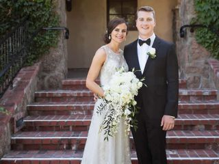 The wedding of David and Brittany