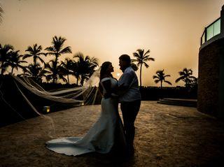 The wedding of Amanda and John