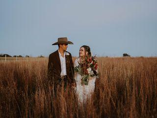 The wedding of Audrey and Benjamin