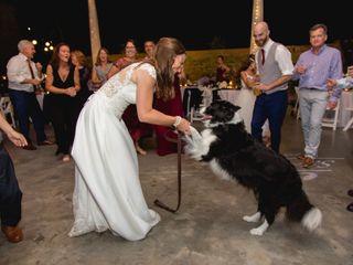 The wedding of Sara and Landon 1