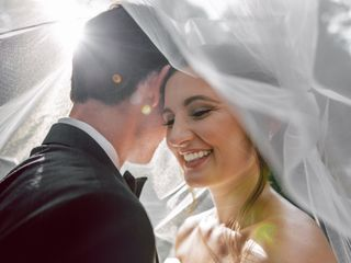 The wedding of William and Carolyne