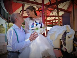 The wedding of Leah and Stephan
