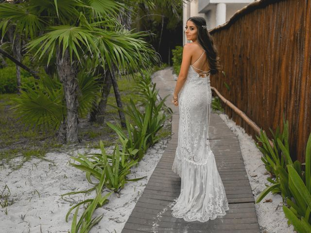 Isaac and Jackie's Wedding in Playa del Carmen, Mexico 12