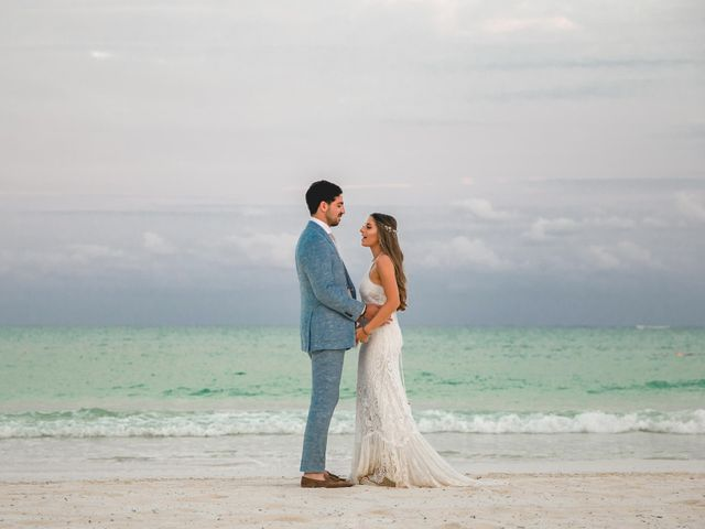 Isaac and Jackie's Wedding in Playa del Carmen, Mexico 15