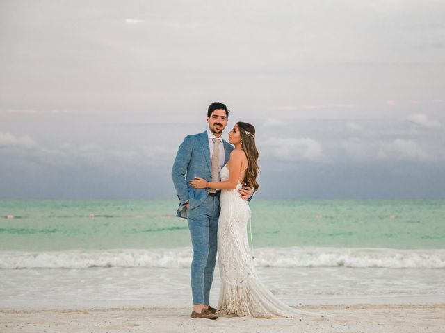 Isaac and Jackie's Wedding in Playa del Carmen, Mexico 16