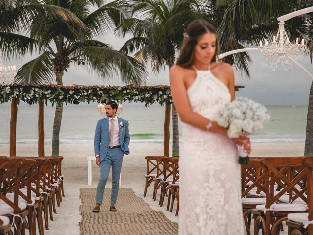 Isaac and Jackie's Wedding in Playa del Carmen, Mexico 18