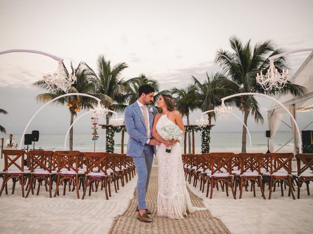 Isaac and Jackie's Wedding in Playa del Carmen, Mexico 21