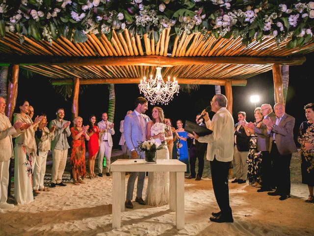 Isaac and Jackie's Wedding in Playa del Carmen, Mexico 30