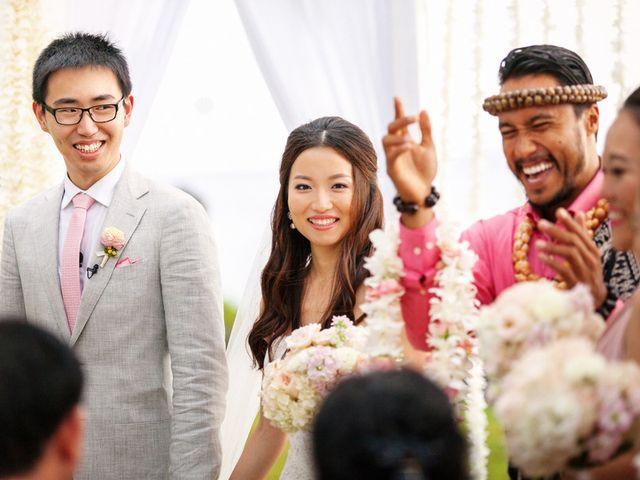 Jodi and Shen's wedding in Hawaii 13