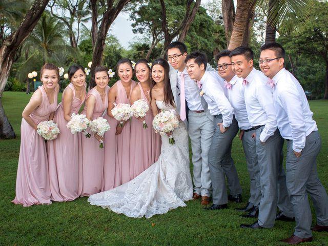 Jodi and Shen's wedding in Hawaii 14