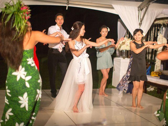 Jodi and Shen's wedding in Hawaii 21