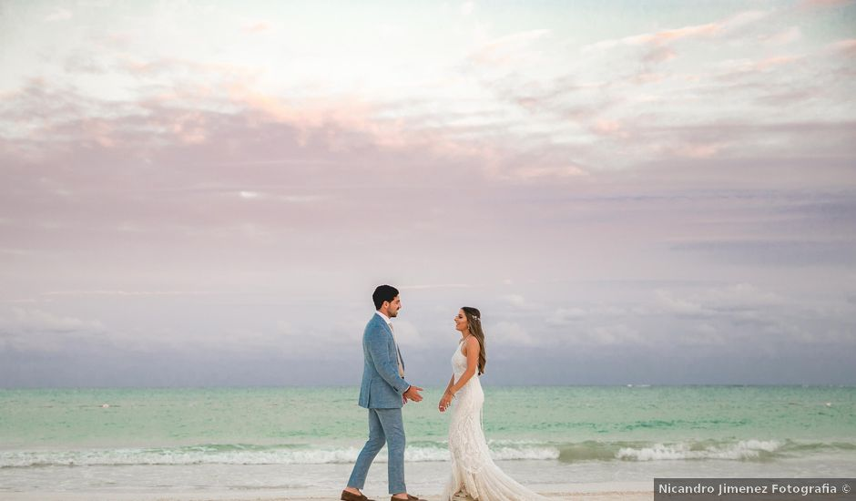 Isaac and Jackie's Wedding in Playa del Carmen, Mexico