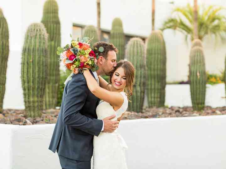 The wedding of Rae and Nathan