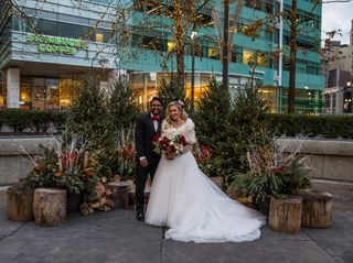 The wedding of Alyse and Suhas