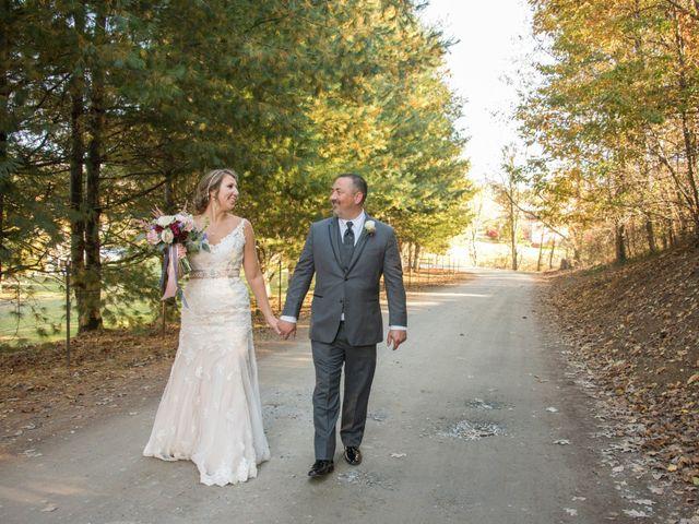 The wedding of Blair and Derek