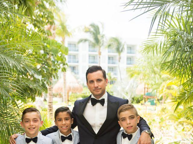 Vito and Monica's Wedding in Cancun, Mexico 12