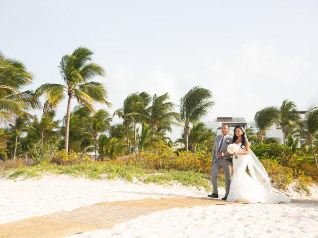 Vito and Monica's Wedding in Cancun, Mexico 19