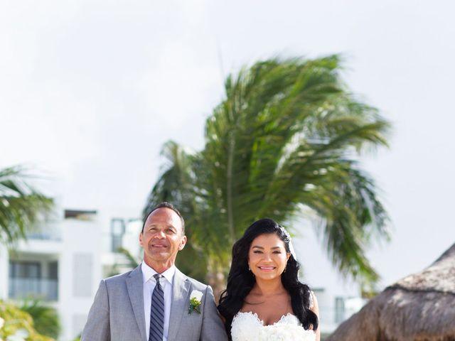 Vito and Monica's Wedding in Cancun, Mexico 21