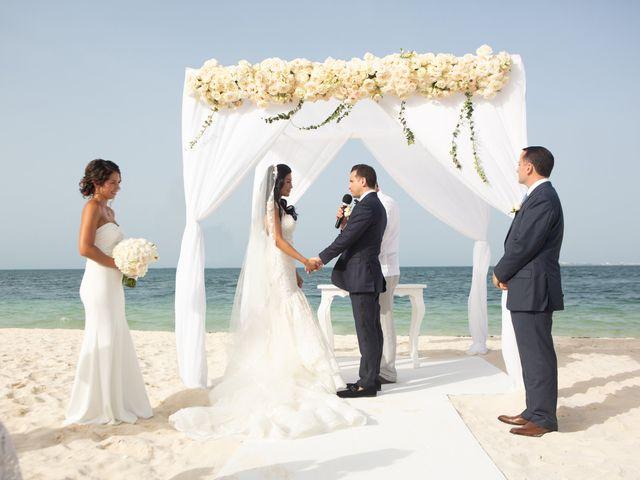 Vito and Monica's Wedding in Cancun, Mexico 24