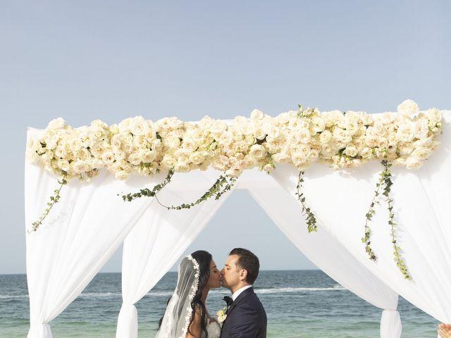 Vito and Monica's Wedding in Cancun, Mexico 25