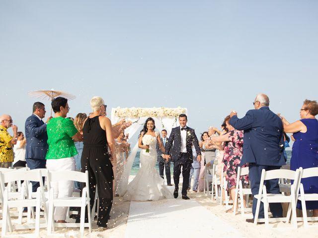 Vito and Monica's Wedding in Cancun, Mexico 26