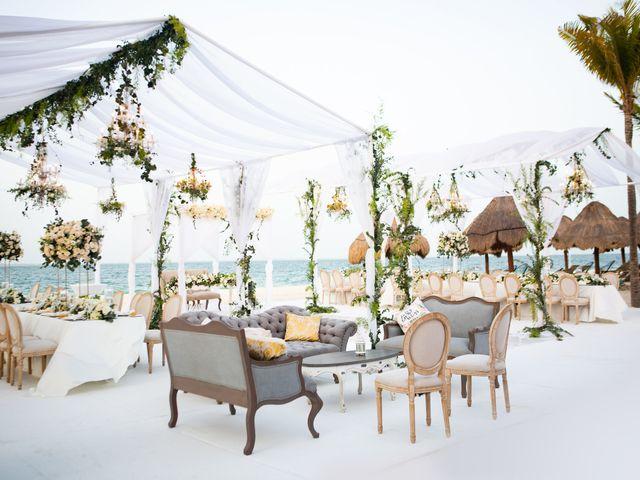 Vito and Monica's Wedding in Cancun, Mexico 37