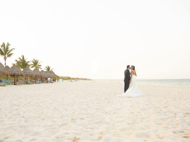 Vito and Monica's Wedding in Cancun, Mexico 55