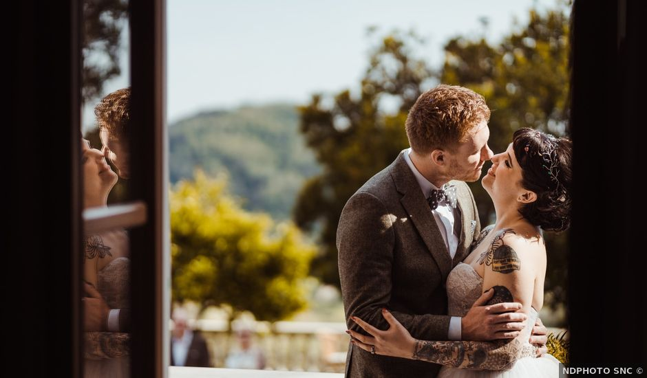 Vikki and David's Wedding in Lucca, Italy
