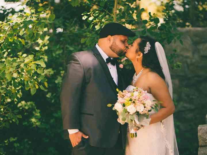 The wedding of Samath and David