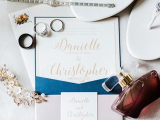 The wedding of Christopher and Danielle 1